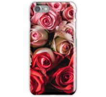 Red and pink roses iPhone Case/Skin