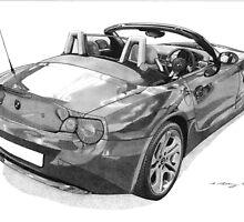 BMW Z4 by Steve Pearcy