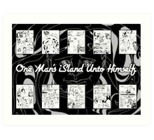 One Man's iSland Unto Himself. Compilation Art Print