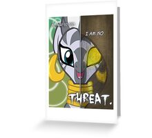 Two Sides - Zecora Greeting Card