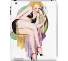 Tasty Pinup Mirror Mirror iPad Case/Skin