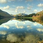 Cloud Reflections - Buttermere by Jamie  Green