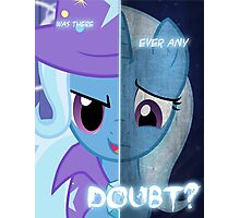 Two Sides - Trixie Photographic Print