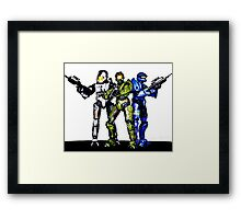 Halo toys Framed Print