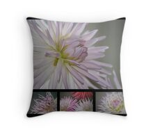 A Study in Lilac Throw Pillow
