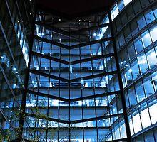 Modern Glass Ofice Building by pixeljar