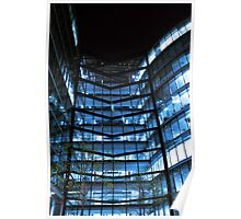 Modern Glass Ofice Building Poster
