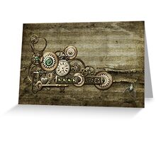 Steampunk Overload 2 Greeting Card
