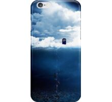There is a man who lives on a cloud. iPhone Case/Skin