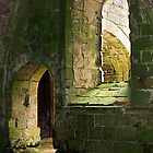 Arches at Fountains Abbey - North Yorkshire by Ray Clarke