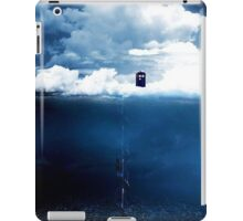 There is a man who lives on a cloud. iPad Case/Skin