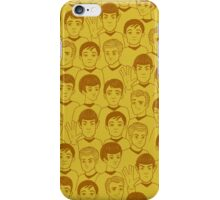 Star Trek Original Characters Yellow iPhone Case/Skin