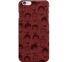 Star Trek Original Characters Red iPhone Case/Skin