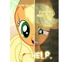 Two Sides - Applejack Photographic Print