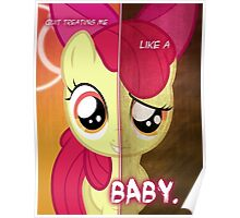 Two Sides - Apple Bloom Poster