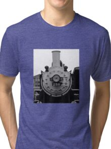 Front of Train Tri-blend T-Shirt