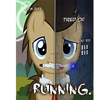 Two Sides - Doctor Whooves Photographic Print