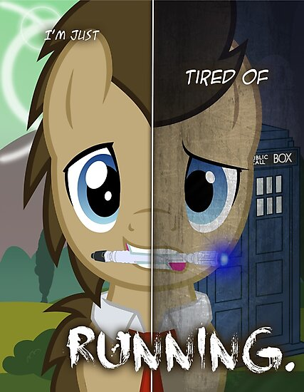 Two Sides - Doctor Whooves by TehJadeh