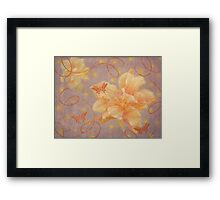 High Flying Hibiscus Framed Print