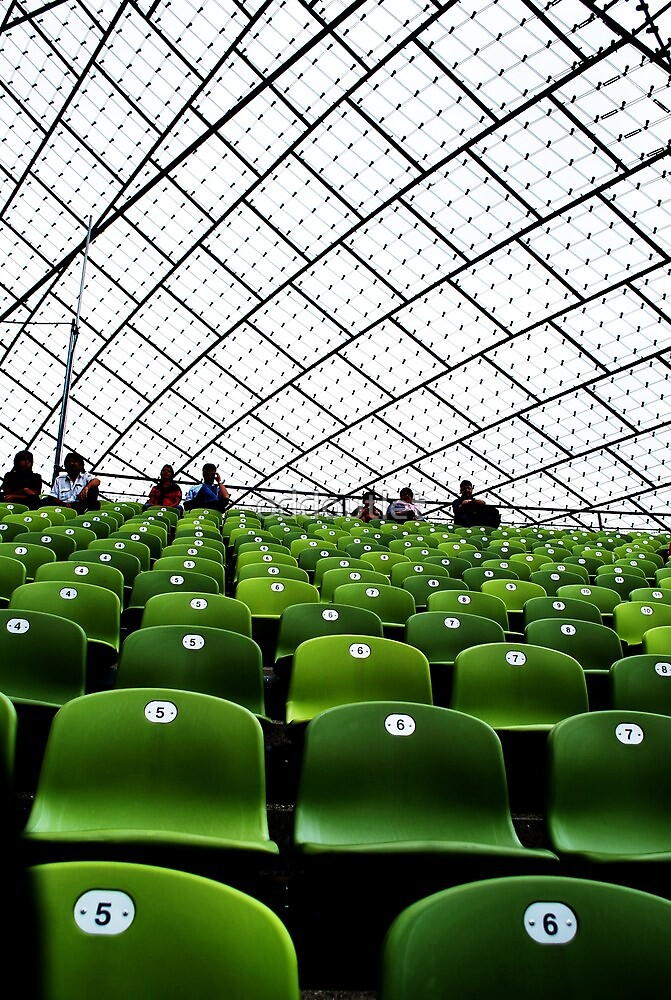 Munich Olympic Stadium by oddoutlet