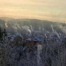 chimneys by Antanas