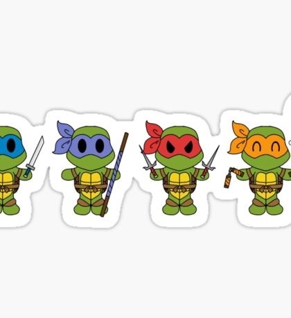 TMNT Chibis  Sticker