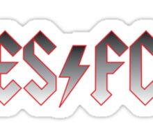 East Stirling ACDC Sticker