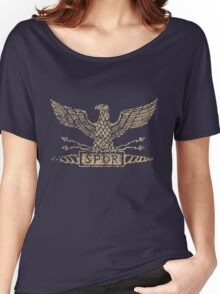 Distressed Legion Eagle Women's Relaxed Fit T-Shirt