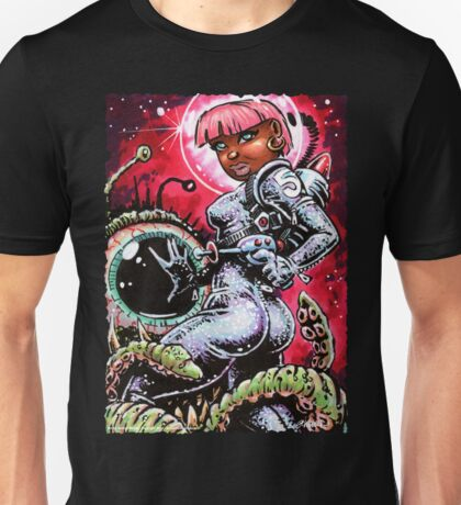 SPACE BABE 1 Unisex T-Shirt