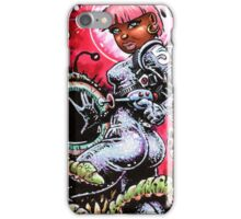 SPACE BABE 1 iPhone Case/Skin