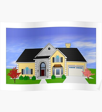 Home rendering Poster