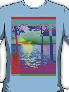 Lake Effect-Available As Art Prints-Mugs,Cases,Duvets,T Shirts,Stickers,etc T-Shirt
