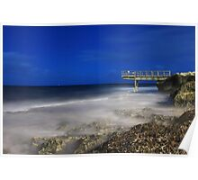 North Beach Jetty - Western Australia  Poster