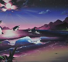 The Orca's Night, 2009 by Darek Frazier