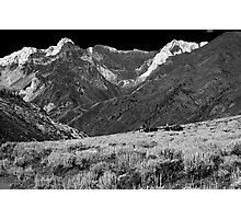Horseback in McGee Canyon Photographic Print