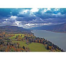 Columbia River Gorge, Washington/Oregon Photographic Print