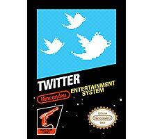NES Twitter Photographic Print
