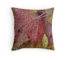 Untitled Leaf Throw Pillow