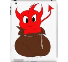 Demon in the sack iPad Case/Skin