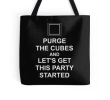Purge The Cubes Tote Bag