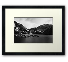 Dusk at Convict Lake in Mono Framed Print