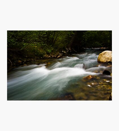 Big Pine Creek Photographic Print