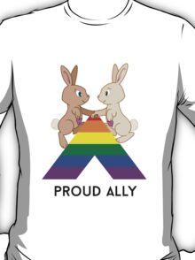 Skip & Pip (aka the Pride Bunnies) celebrate LGBT Allies T-Shirt