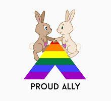Skip & Pip (aka the Pride Bunnies) celebrate LGBT Allies Unisex T-Shirt