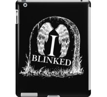 Doctor Who I Blinked Gravestone iPad Case/Skin