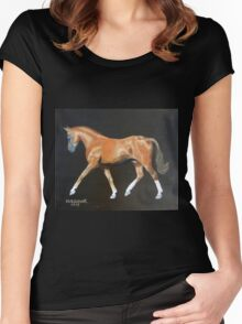 "Redline Shooting Star ""Wrex"" Women's Fitted Scoop T-Shirt"