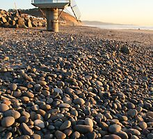 Pebbles and Tower by mAriO vAllejO