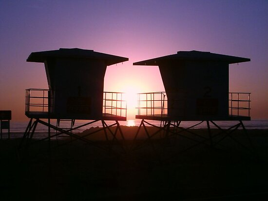 Life Guard Towers by mAriO vAllejO