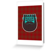 Beards! Greeting Card