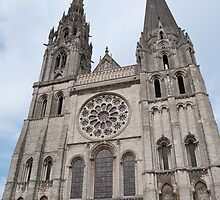 Chartres cathedral by Jaime Pharr